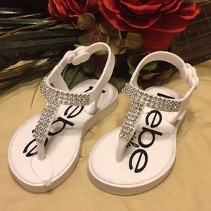 New Bebe girls sandals